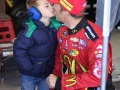 Jamie McMurray and Son